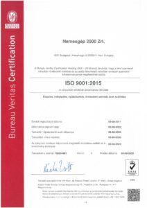 ISO 9001 2015 magyar